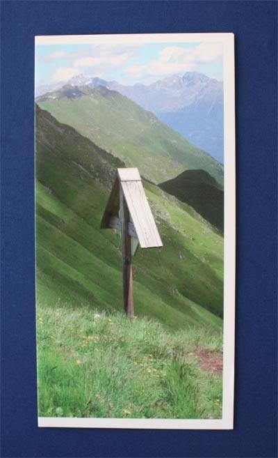 Motiv 1 - Kreuz Format - Panorama Postkarten (21 x 10,5 cm) Versand inkl. Kuvert