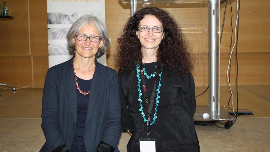 palliativtag_11_Elisabeth_Medicus und Sonja Prieth