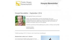 hospiz newsletter september 2014