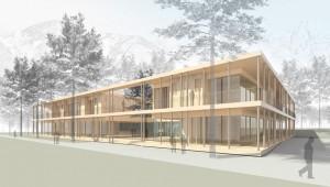 Hospizhaus Tirol aussenansicht