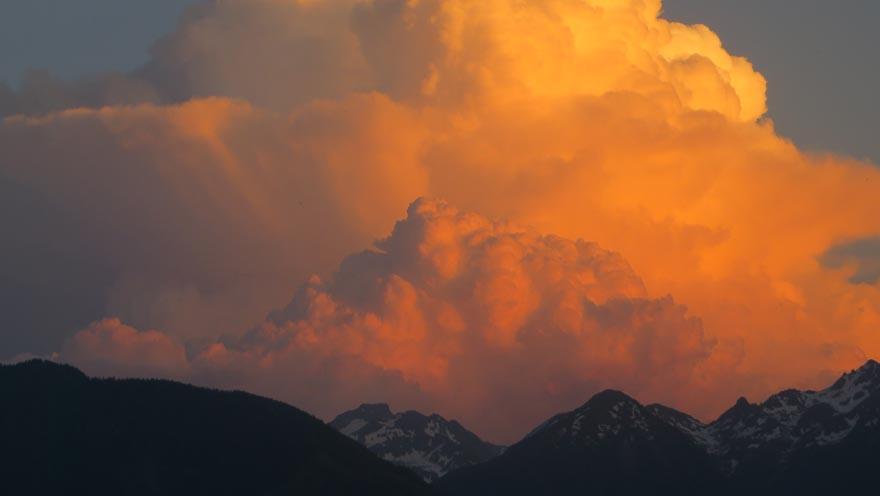 wolkenstimmung dachstein