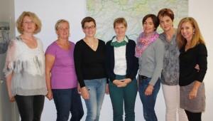 Teamfoto Regionalarbeit