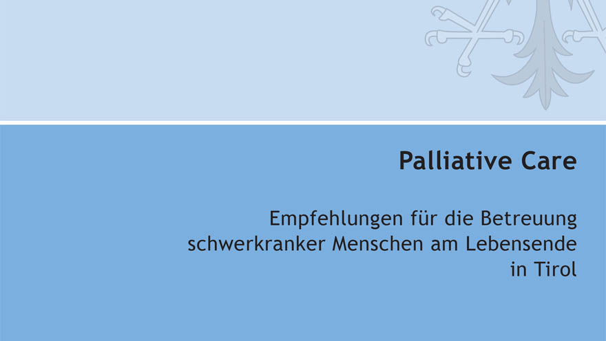 Broschüre Palliative Care