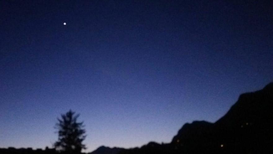 auftanken Nachthimmel