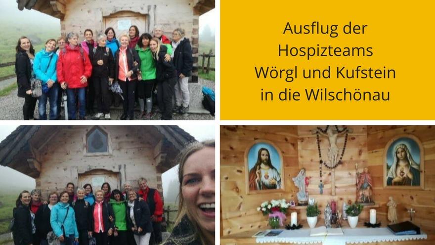 Ausflug der Hospizteams Wörgl und Kufstein