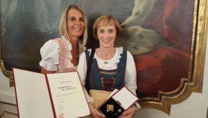 Verdienstkreuz Angelika Scheiber