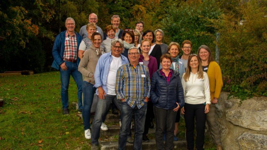 Die Teilnehmer*innen der Ausbildung zur ehrenamtlichen Hospizbegleitung.